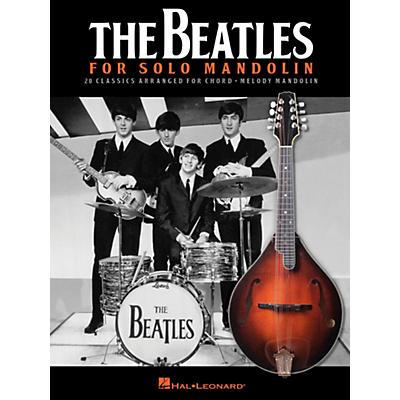 Hal Leonard The Beatles For Solo Mandolin