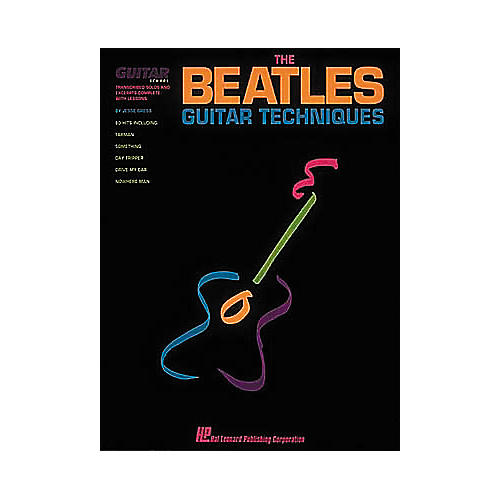 Hal Leonard The Beatles Guitar Techniques Book