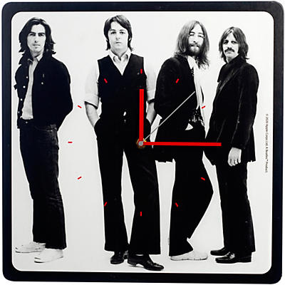 Vandor The Beatles Let It Be 13.5 Inch Square Wall Clock