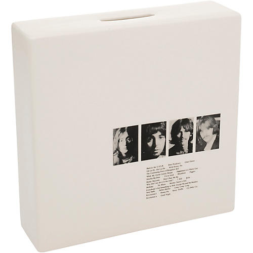 Vandor The Beatles Limited Edition White Album Ceramic Coin Bank