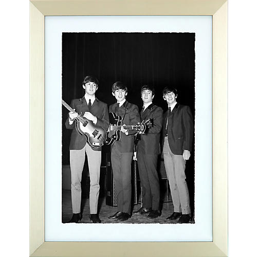 Mirrorpix The Beatles Liverpool Lads Framed Print
