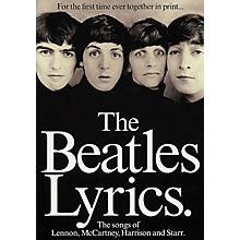 Hal Leonard The Beatles Lyrics