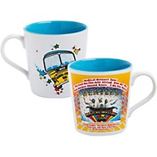 Vandor The Beatles Magical Mystery Tour 12 oz. Ceramic Mug