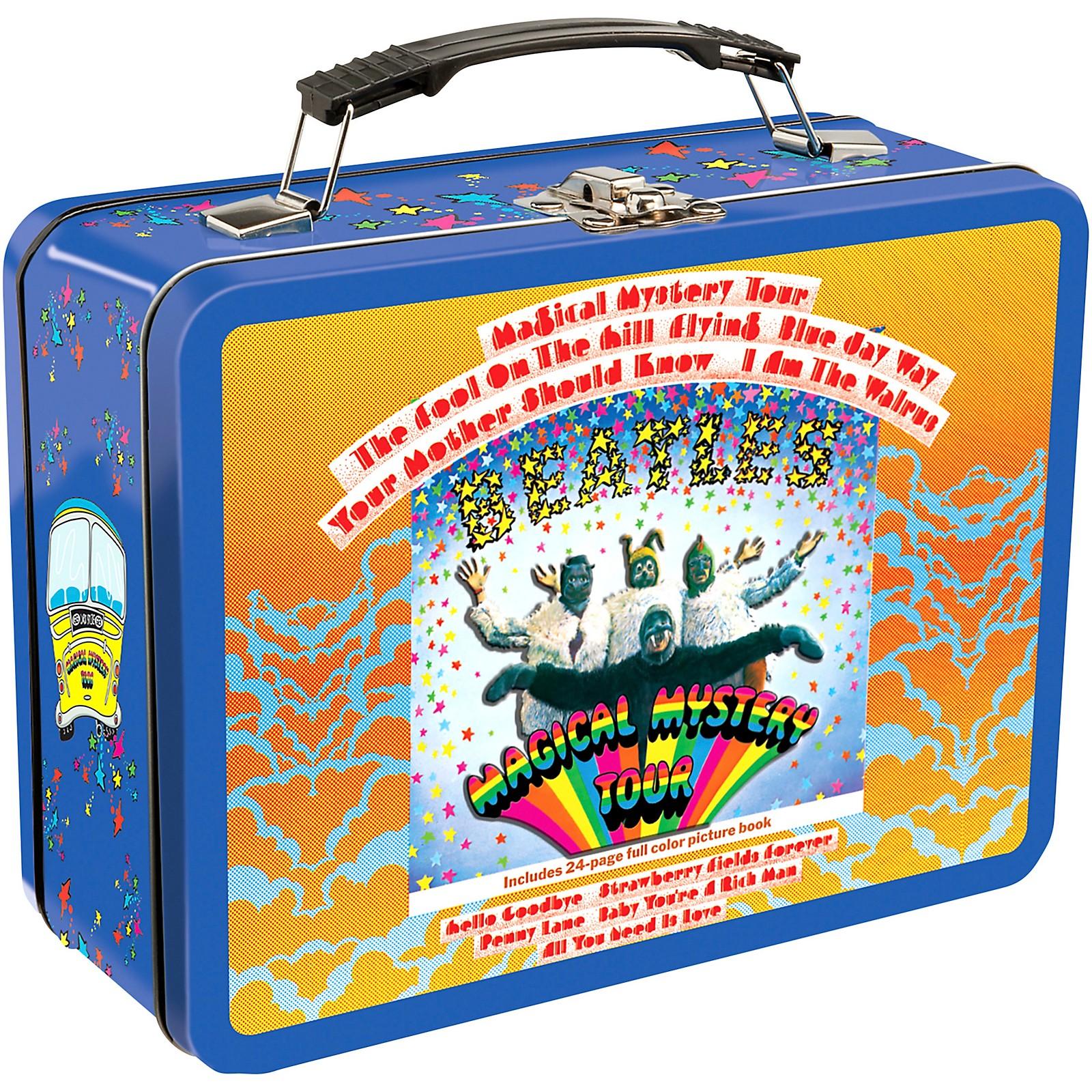 Vandor The Beatles Magical Mystery Tour Large Tin Tote