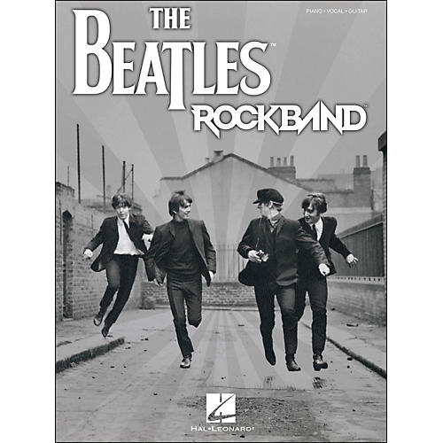 Hal Leonard The Beatles Rock Band arranged for piano, vocal, and guitar (P/V/G)