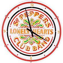 """Vandor The Beatles Sgt. Pepper's 13.5"""" Wall Clock"""