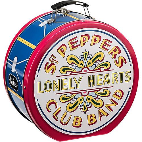 Vandor The Beatles Sgt. Pepper's Drum Shaped Tin Tote