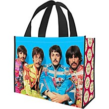 Vandor The Beatles Sgt. Pepper's Large Recycled Shopper Tote