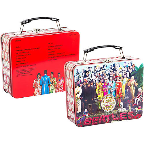 Vandor The Beatles Sgt. Pepper's Large Tin Tote