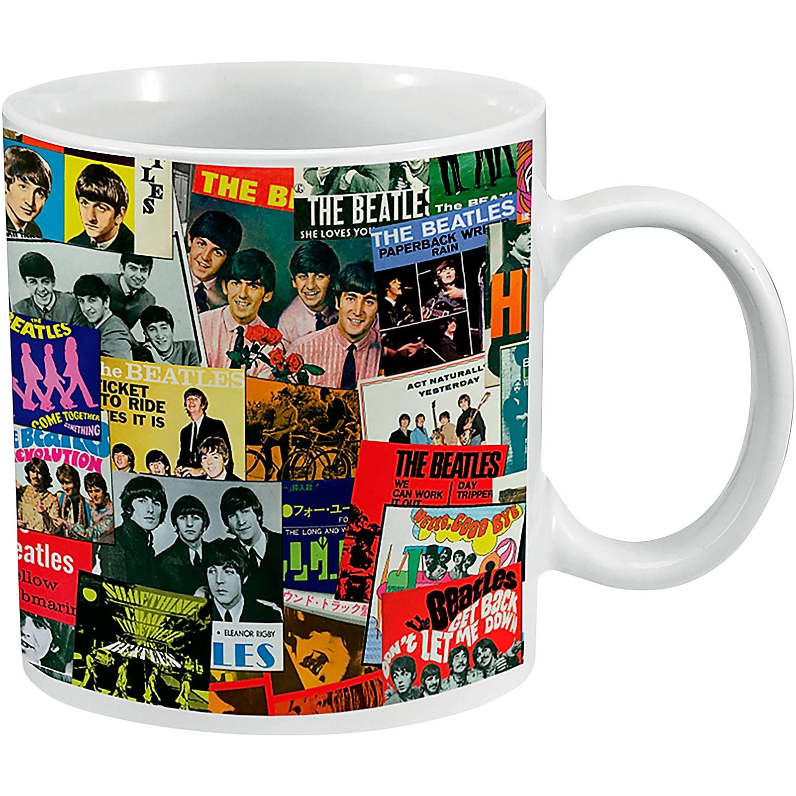 Vandor The Beatles Singles Collection 20 oz. Ceramic Mug