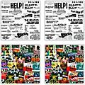 Vandor The Beatles Singles Collection 4 pc. Ceramic Coaster Set thumbnail