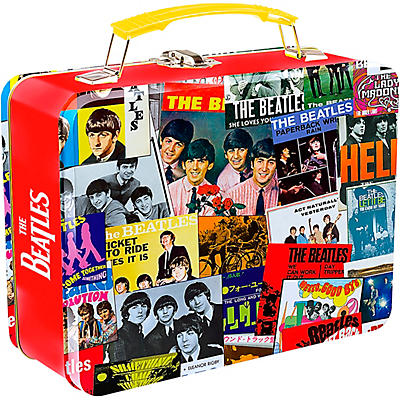 Vandor The Beatles Singles Collection Large Tin Tote