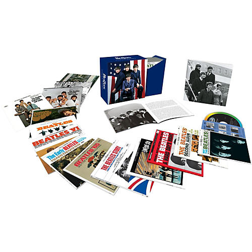 the beatles the u s albums 13 cd box set musician 39 s friend. Black Bedroom Furniture Sets. Home Design Ideas