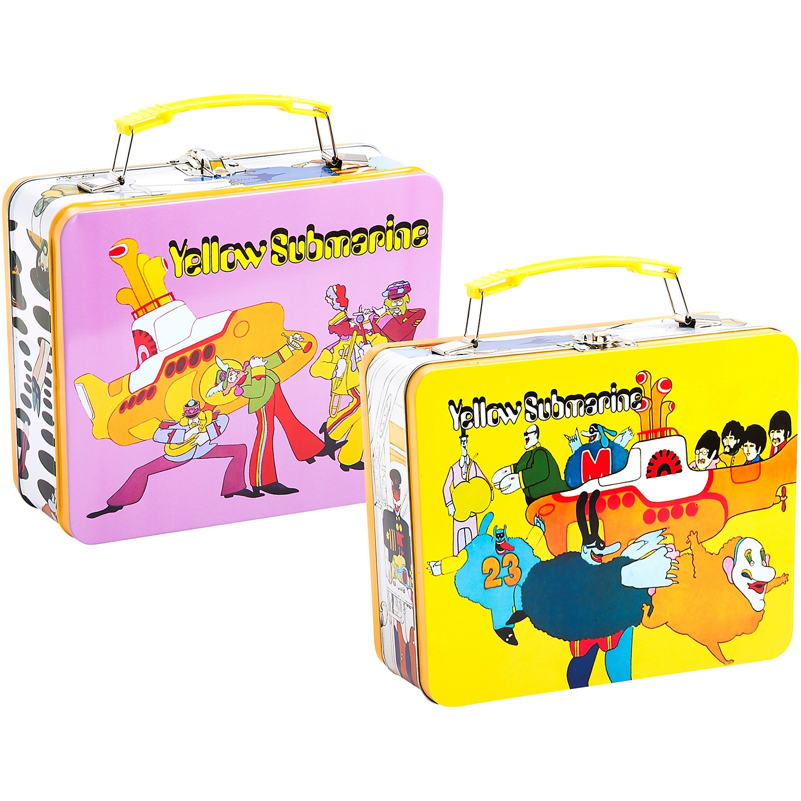 Vandor The Beatles YS Vintage Large Tin Tote