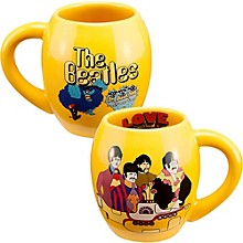 "Vandor The Beatles ""Yellow Submarine"" 18 oz. Oval Ceramic mug"