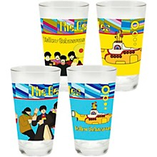 Vandor The Beatles Yellow Submarine 2 pc. 16 oz. Glass Set