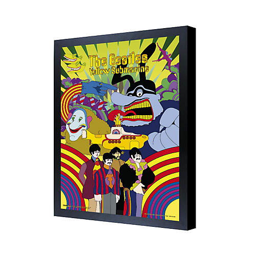 Ace Framing The Beatles Yellow Submarine 3D Framed Poster