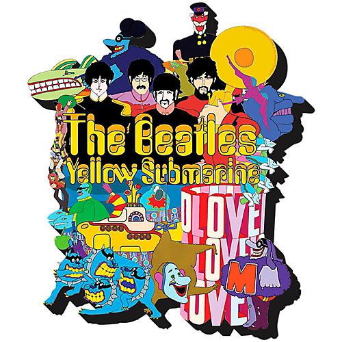 Hal Leonard The Beatles Yellow Submarine  Chunky Magnet