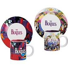 Vandor The Beatles Yellow Submarine Teacups & Saucers Set of 2 - Version 2