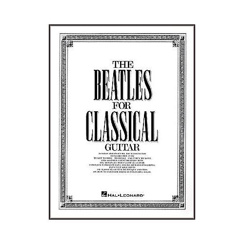 Hal Leonard The Beatles for Classical Guitar Book