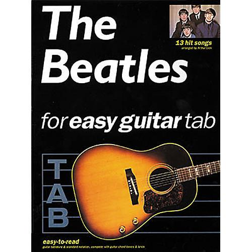 Hal Leonard The Beatles for Easy Guitar Tab Songbook