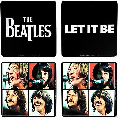 Vandor The Beatles <i>Let It Be</i> MDF Coasters, Set of 4