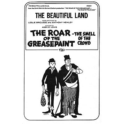 TRO ESSEX Music Group The Beautiful Land SSA Arranged by Aden G. Lewis
