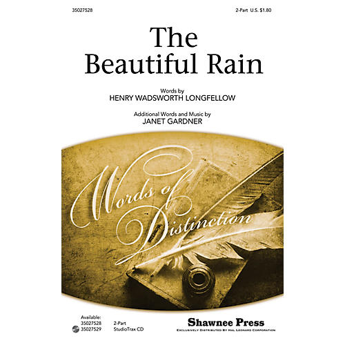 Shawnee Press The Beautiful Rain Studiotrax CD Composed by Janet Gardner