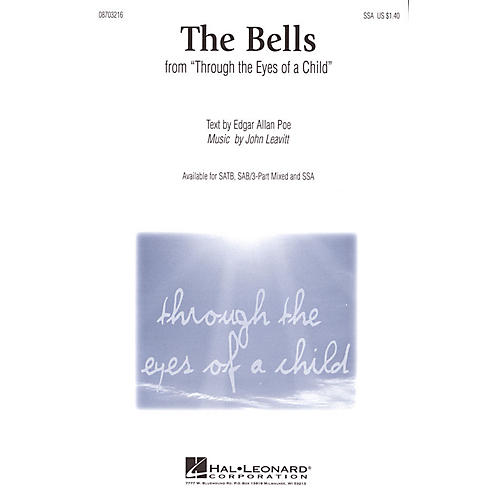 Hal Leonard The Bells (from Through the Eyes of a Child) 3-Part Mixed Composed by John Leavitt