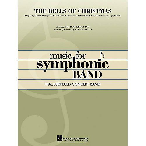 Hal Leonard The Bells of Christmas Concert Band Level 4 Arranged by Bob Krogstad
