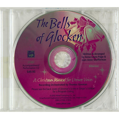 Alfred The Bells of Glocken:  Accompaniment/Performance CD