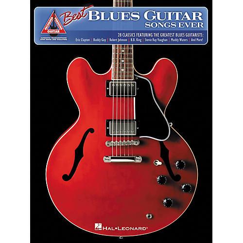 Hal Leonard The Best Blues Guitar Songs Ever Guitar Tab Songbook
