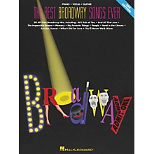 Hal Leonard The Best Broadway Songs Ever Updated Piano, Vocal, Guitar Songbook