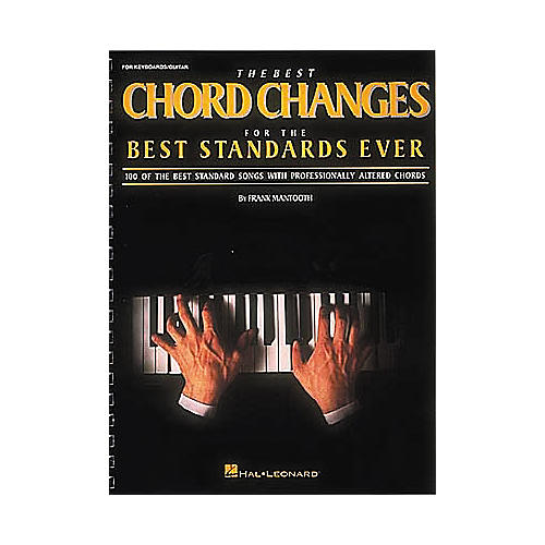 Hal Leonard The Best Chord Changes for the Best Standards Ever (Fake Book)