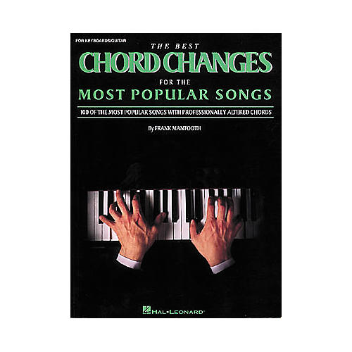 Hal Leonard The Best Chord Changes for the Most Popular Songs (Fake Book)