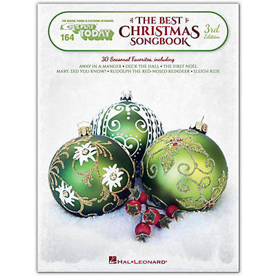 Hal Leonard The Best Christmas Songbook - 3rd Edition E-Z Play Today Volume 164