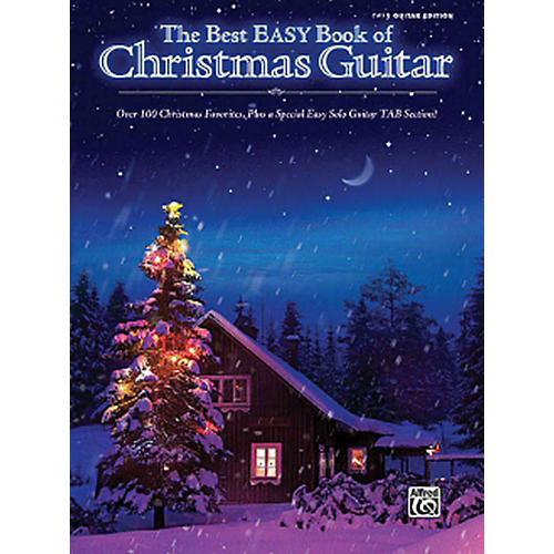 Hal Leonard The Best Easy Book Of Christmas Guitar Easy Guitar Tab Songbook