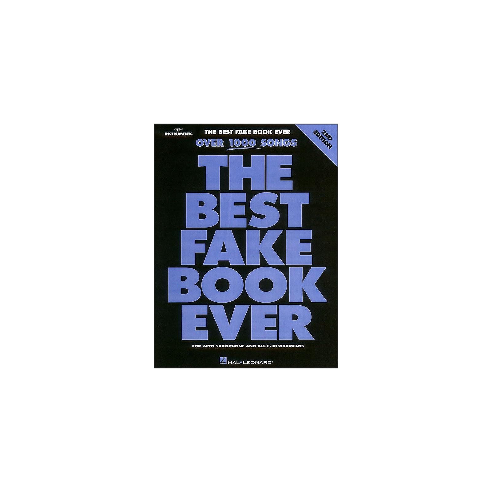 Hal Leonard The Best Fake Book Ever Eb Edition