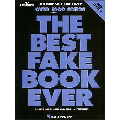 Hal Leonard The Best Fake Book Ever Eb Edition