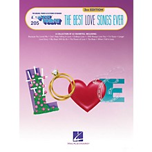 Hal Leonard The Best Love Songs Ever - 3rd Edition E-Z Play Today Volume 205