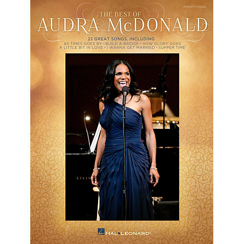 Hal Leonard The Best Of Audra Mcdonald for Piano/Vocal/Guitar PVG