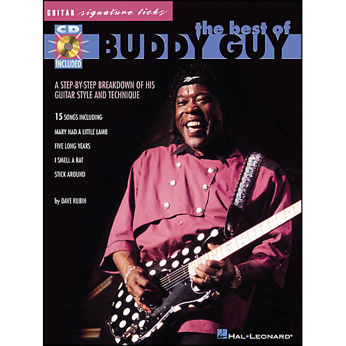 Hal Leonard The Best Of Buddy Guy - Guitar Signature Licks (CD/Pkg)