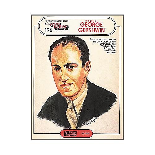 Hal Leonard The Best Of George Gershwin E-Z Play 196