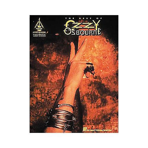 Hal Leonard The Best Of Ozzy Osbourne Guitar Tab Songbook