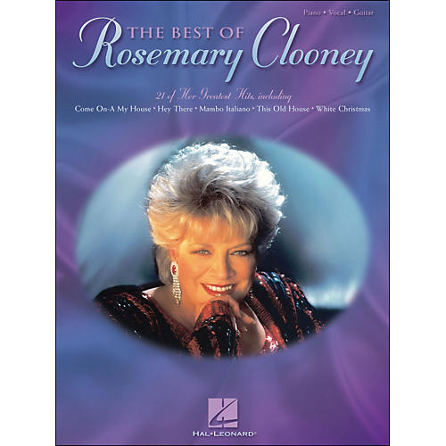 Hal Leonard The Best Of Rosemary Clooney arranged for piano, vocal, and guitar (P/V/G)