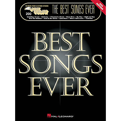 Hal Leonard The Best Songs Ever - 8th Edition E-Z Play Today Volume 200 Songbook