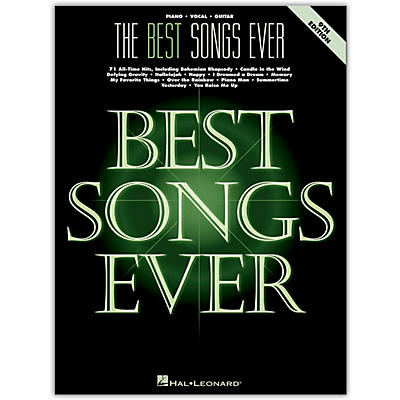 Hal Leonard The Best Songs Ever for Piano/Vocal/Guitar 9th Edition