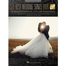 Hal Leonard The Best Wedding Songs Ever - 2nd Edition Piano/Vocal/Guitar Songbook