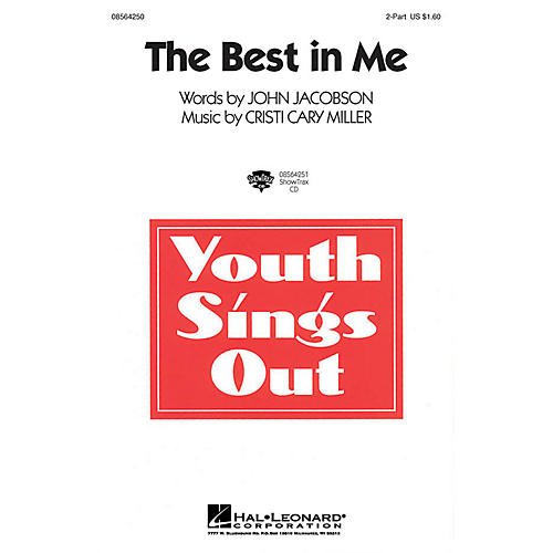 Hal Leonard The Best in Me 2-Part composed by Cristi Cary Miller