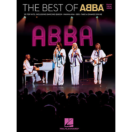 Hal Leonard The Best of ABBA Piano/Vocal/Guitar Songbook